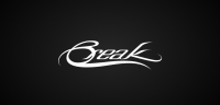 Break logotype black