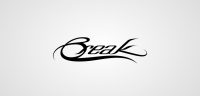 Break logotype white