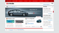 Citroen website home 2