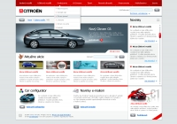 Citroen website home 3