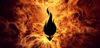 Firehead logo fire