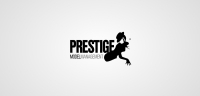 Prestige Models logotype white